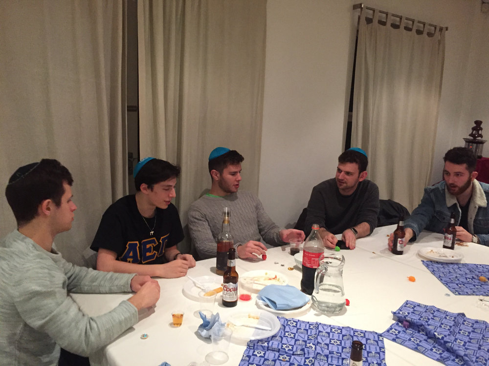 AEPI/Chabad Chanukah Party
