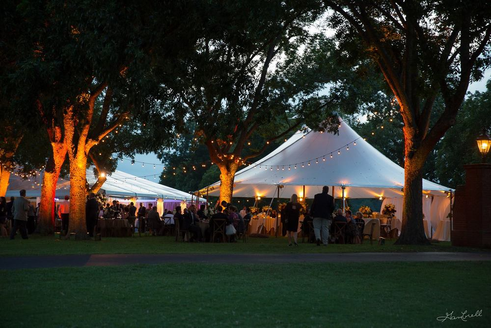 Wedding reception tent pictures