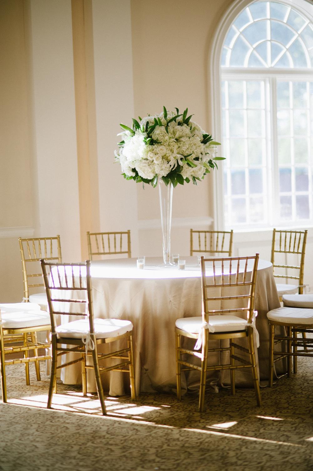 Wedding florist, River Room at St. Paul's, Augusta GA.