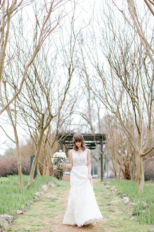 Bridal portrait, Serenbe, GA wedding photography
