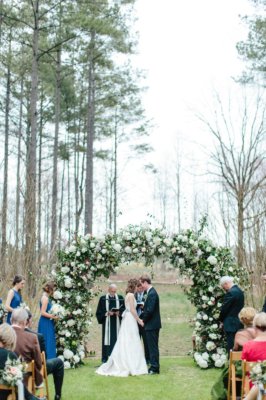 Serenbe, GA wedding ceremony