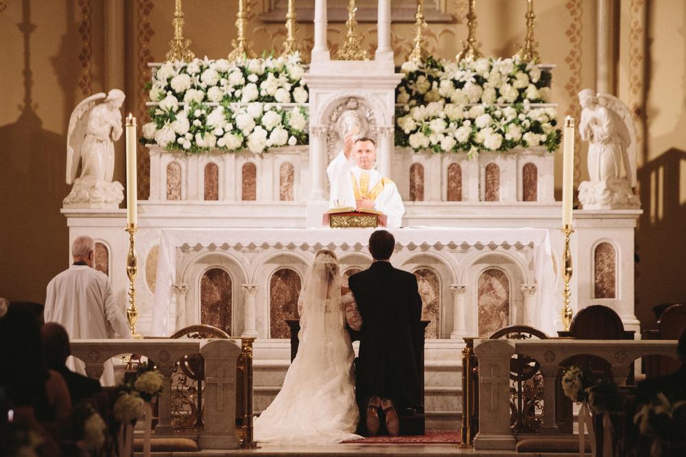 Wedding Ceremony, Church of the Most Holy Trinity