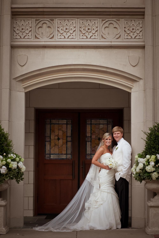 Trinity on the Hill wedding photo