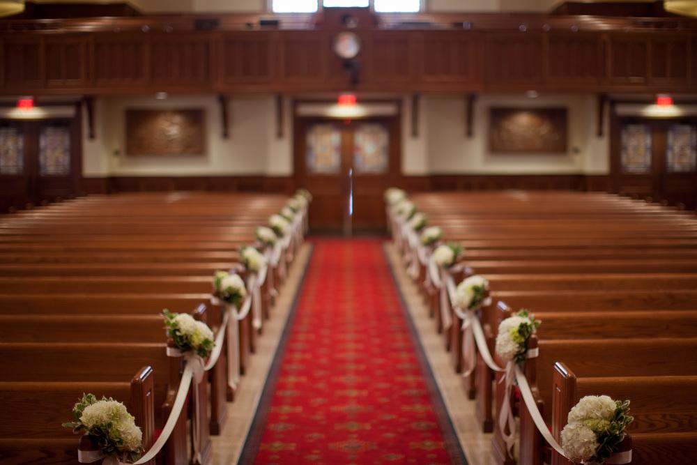 Trinity on the Hill wedding ceremony