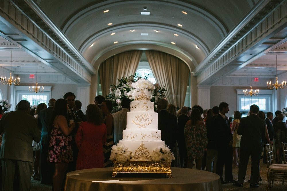 Wedding Cake, River Room at St. Paul's