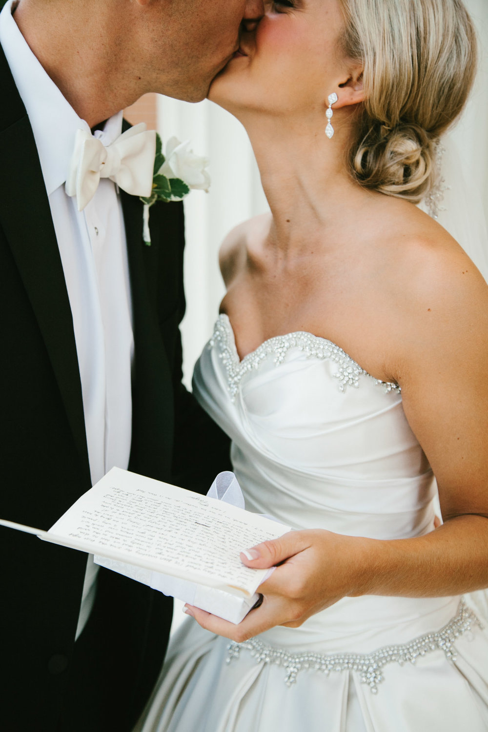 Bride and groom letter