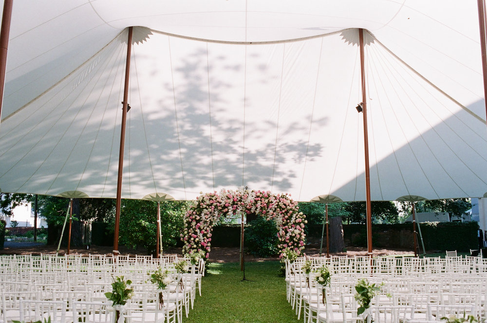 tented-wedding-ceremony-old-medical-college-greg-boulus-events-augusta-georgia