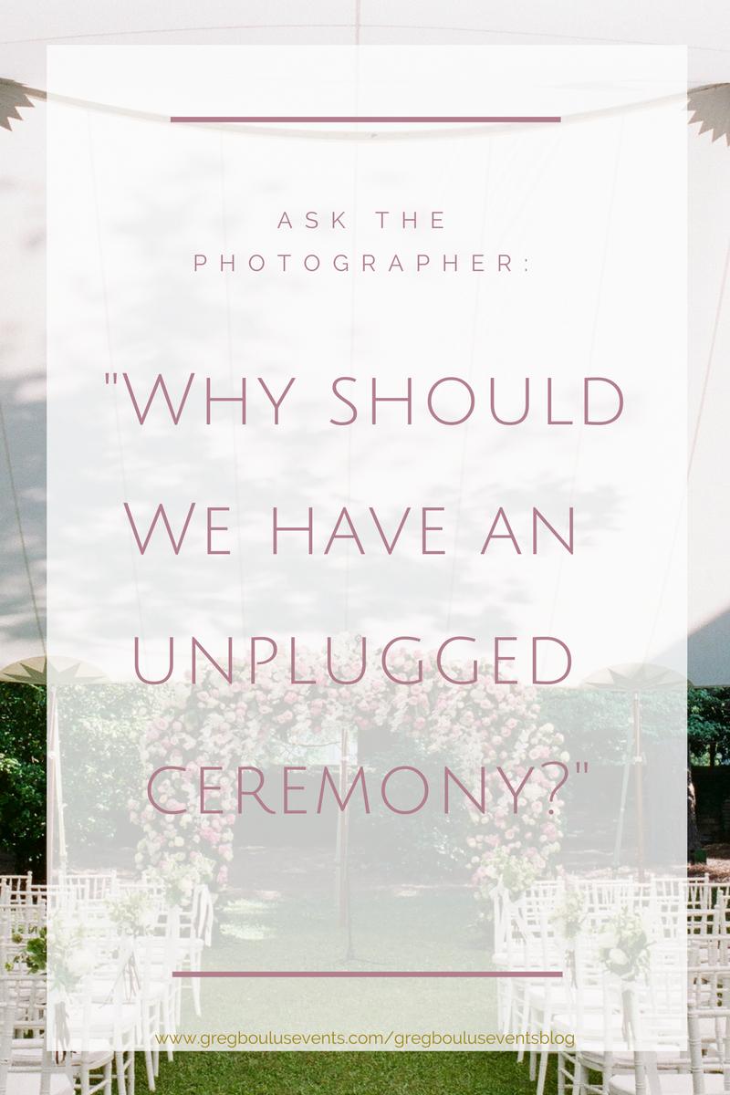 wedding photograhy tips_unplugged ceremony