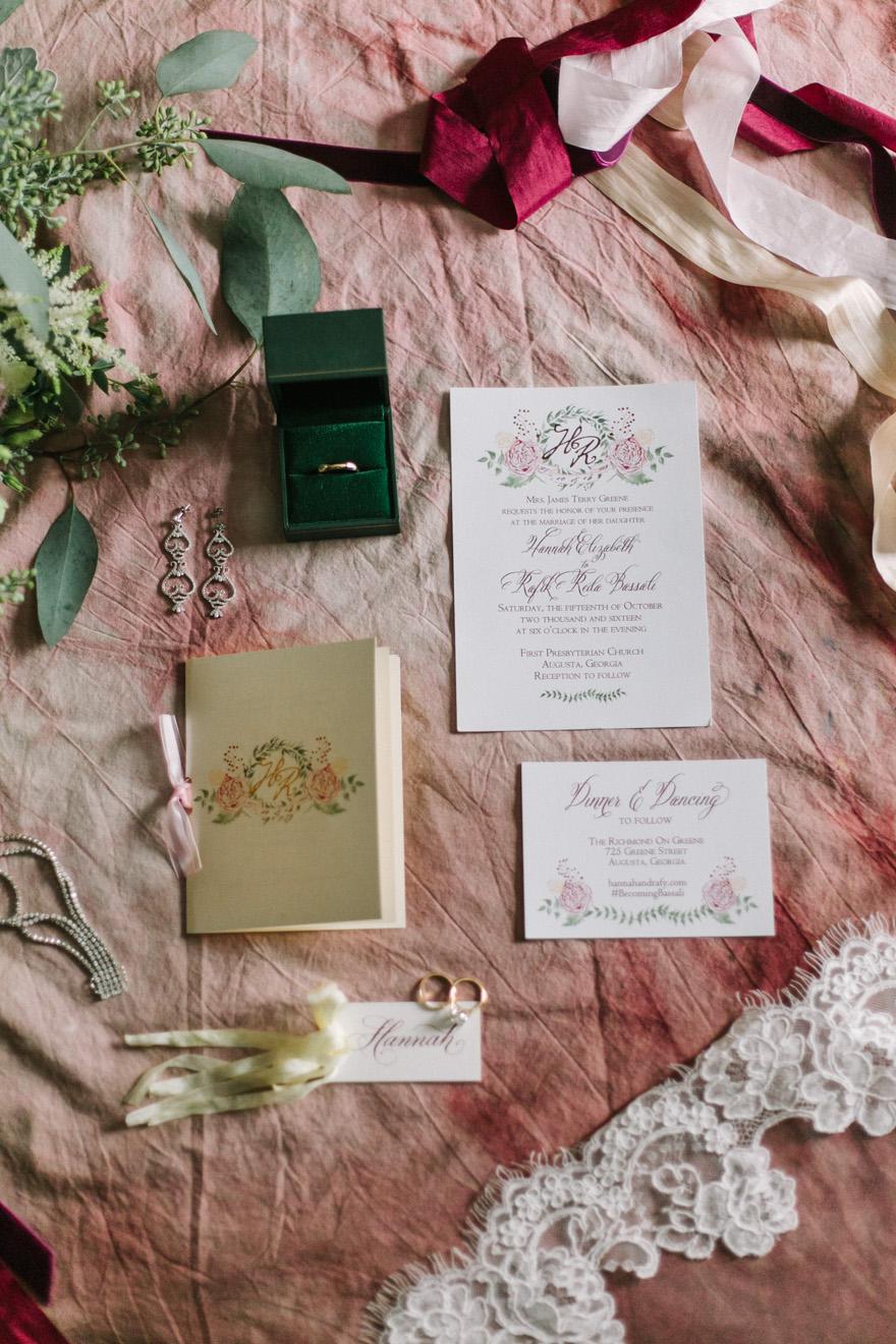 custom invitation suite augusta ga