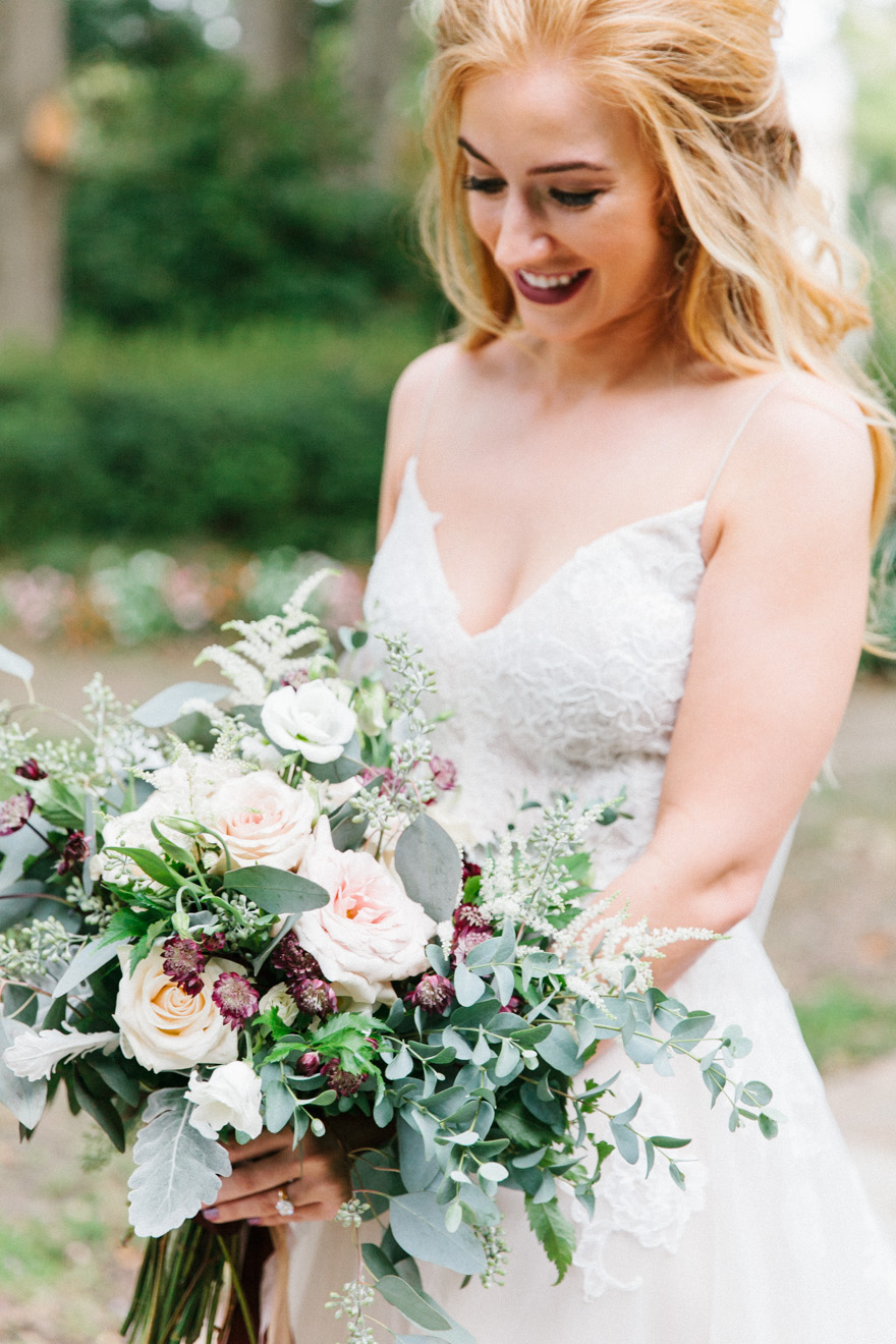 large bridal bouquet augusta georgia