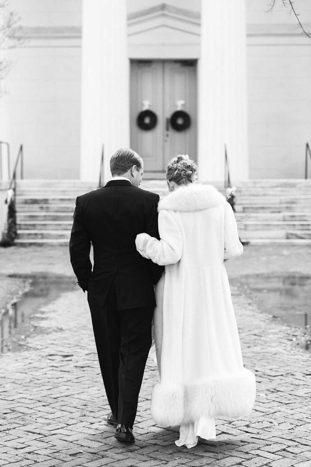 Winter wedding at Old Medical College, Augusta, GA