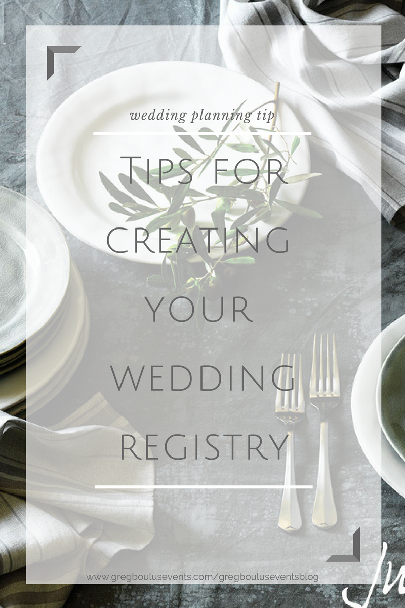 6 Tips for Creating Your Wedding Registry_Wedding planning tips