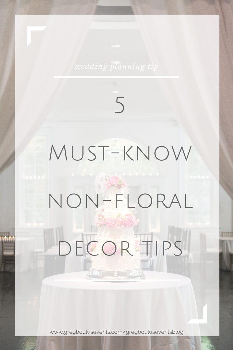 5 must-know non flower decor wedding tips_wedding blog