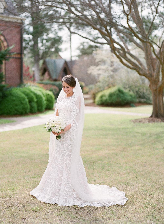 Spring bridal portraits, Augusta, GA
