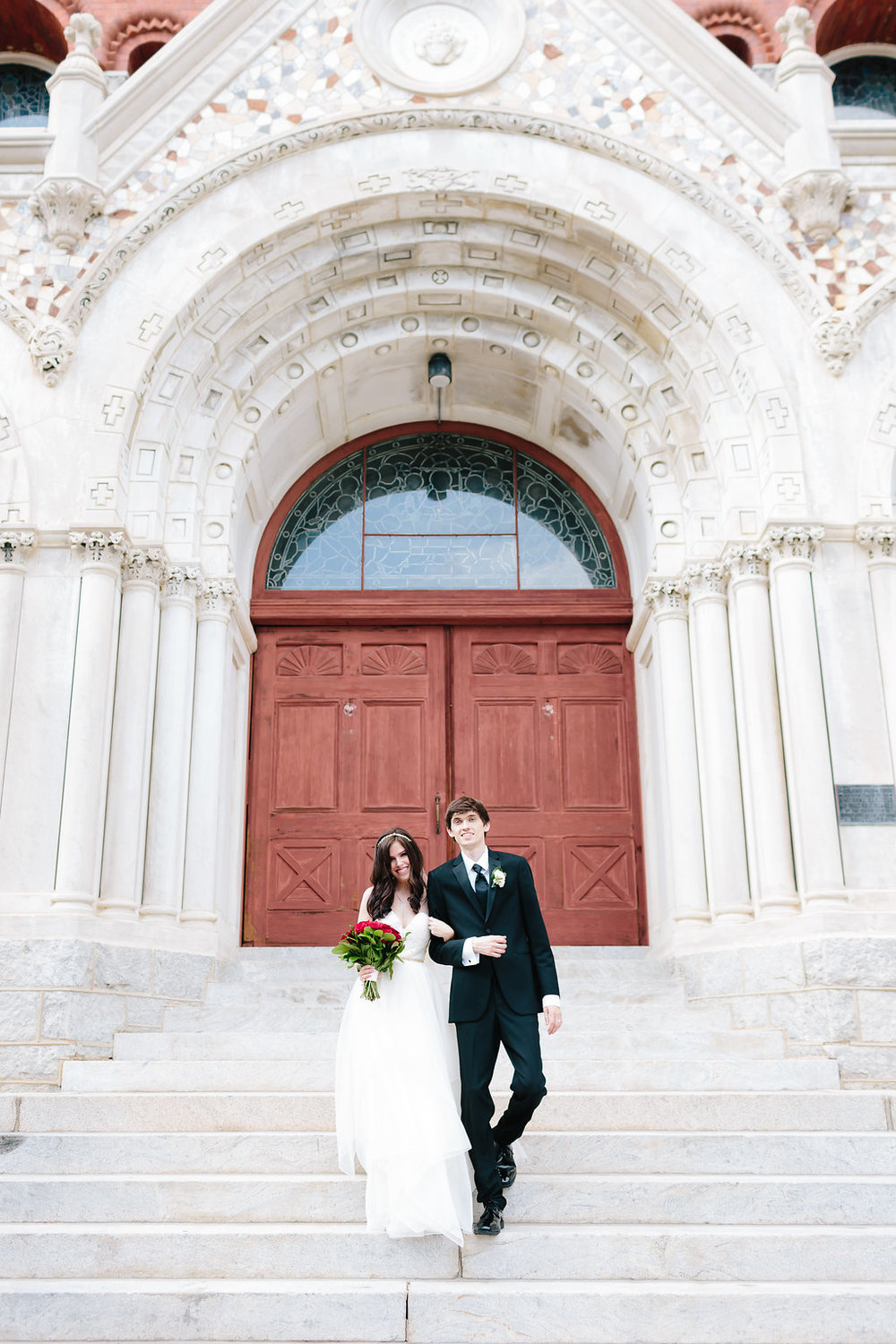 Sacred Heart Cultural Center wedding