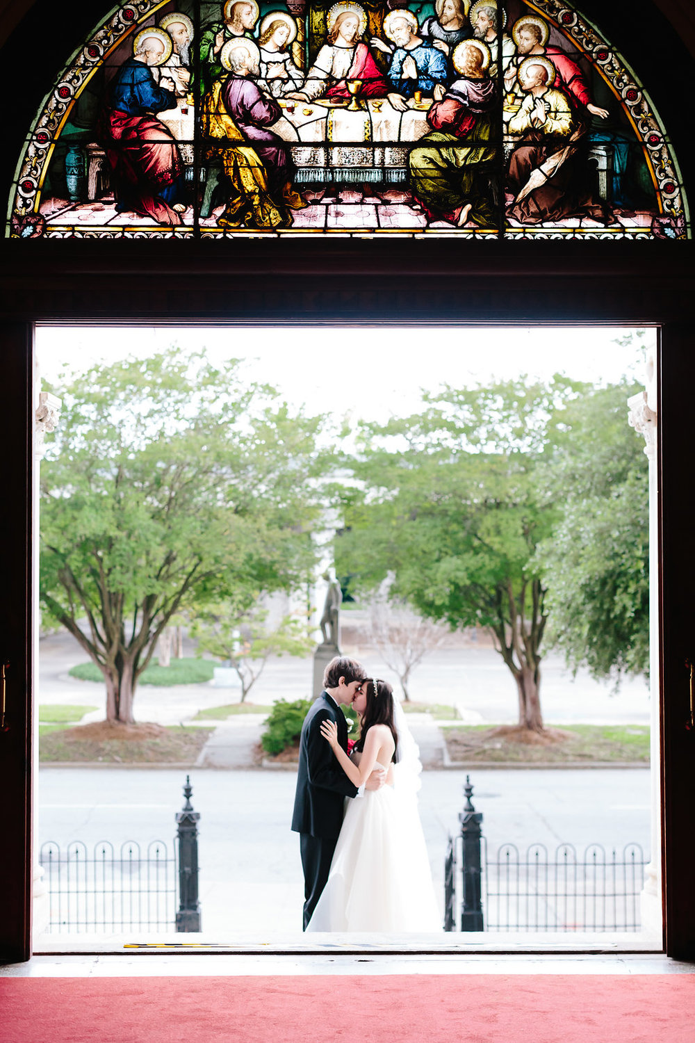 Sacred Heart wedding photography