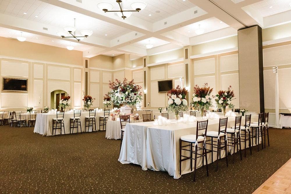 legends club wedding reception
