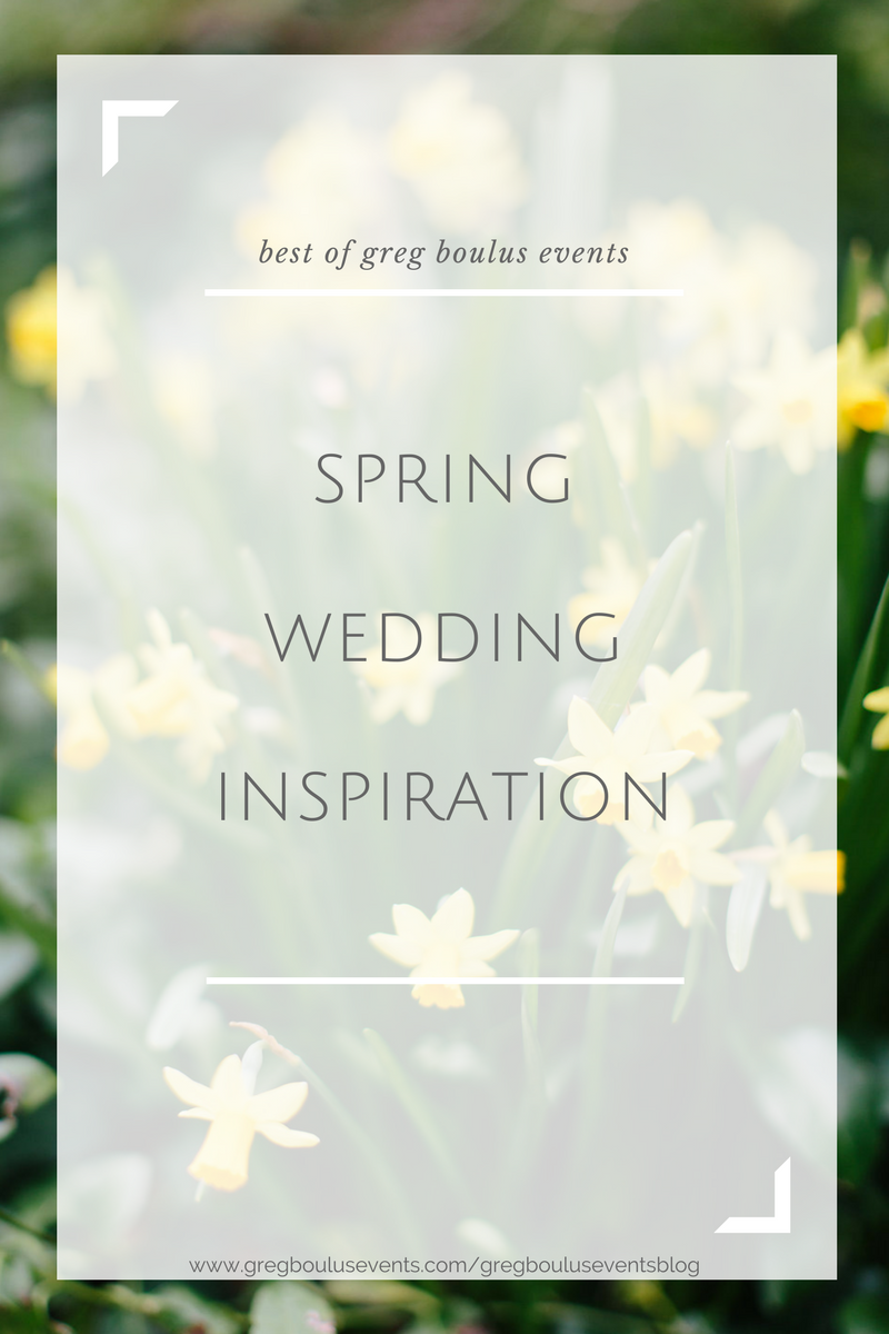 spring wedding inspiration blog post