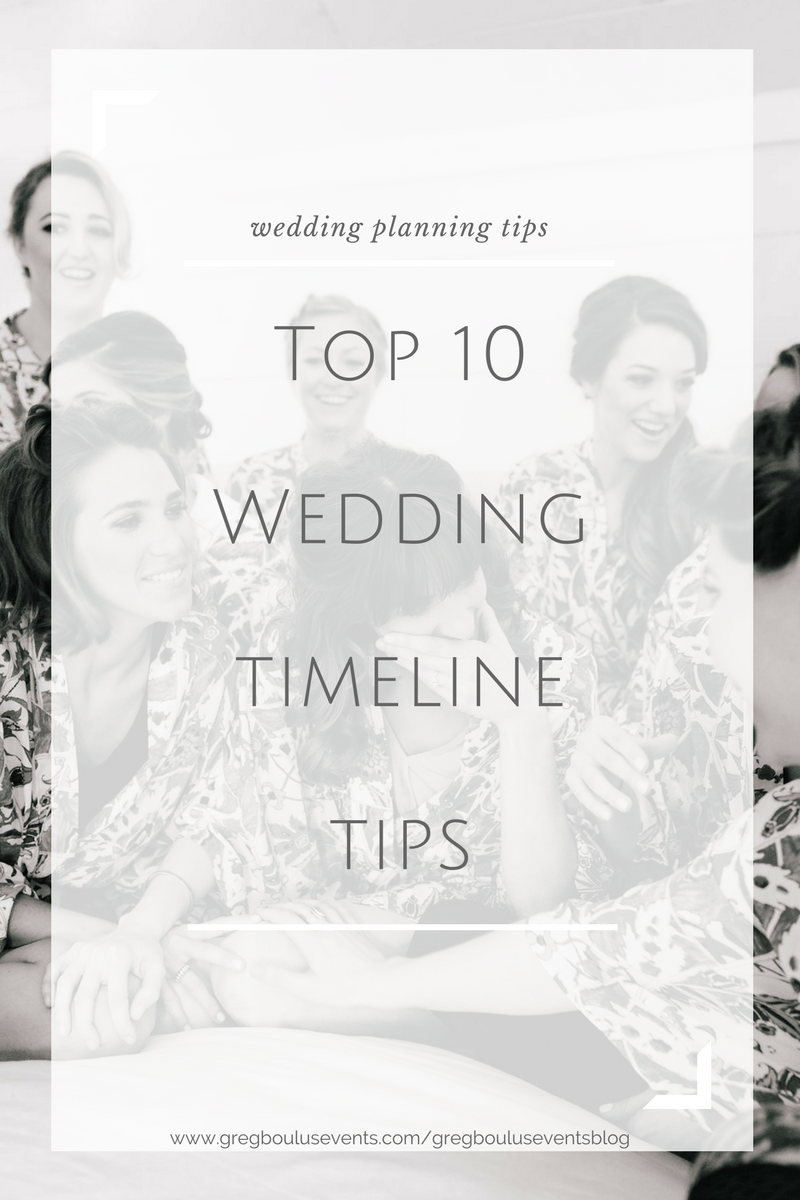 Top 10 Wedding Timeline Tips wedding planning blog