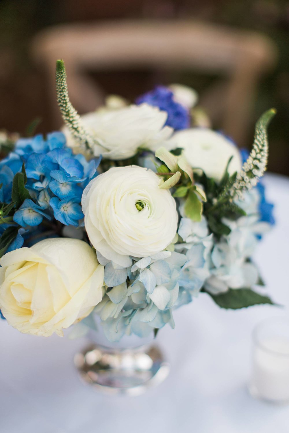 Blue + White + Silver - fresh + timeless