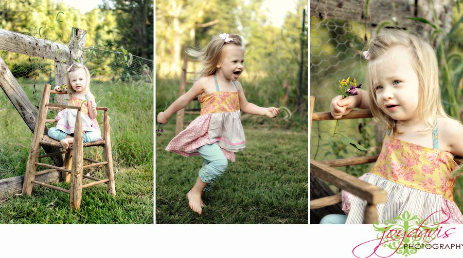 "Sweet Sweet ""M"" in her Matilda Jane Spring 2009!"
