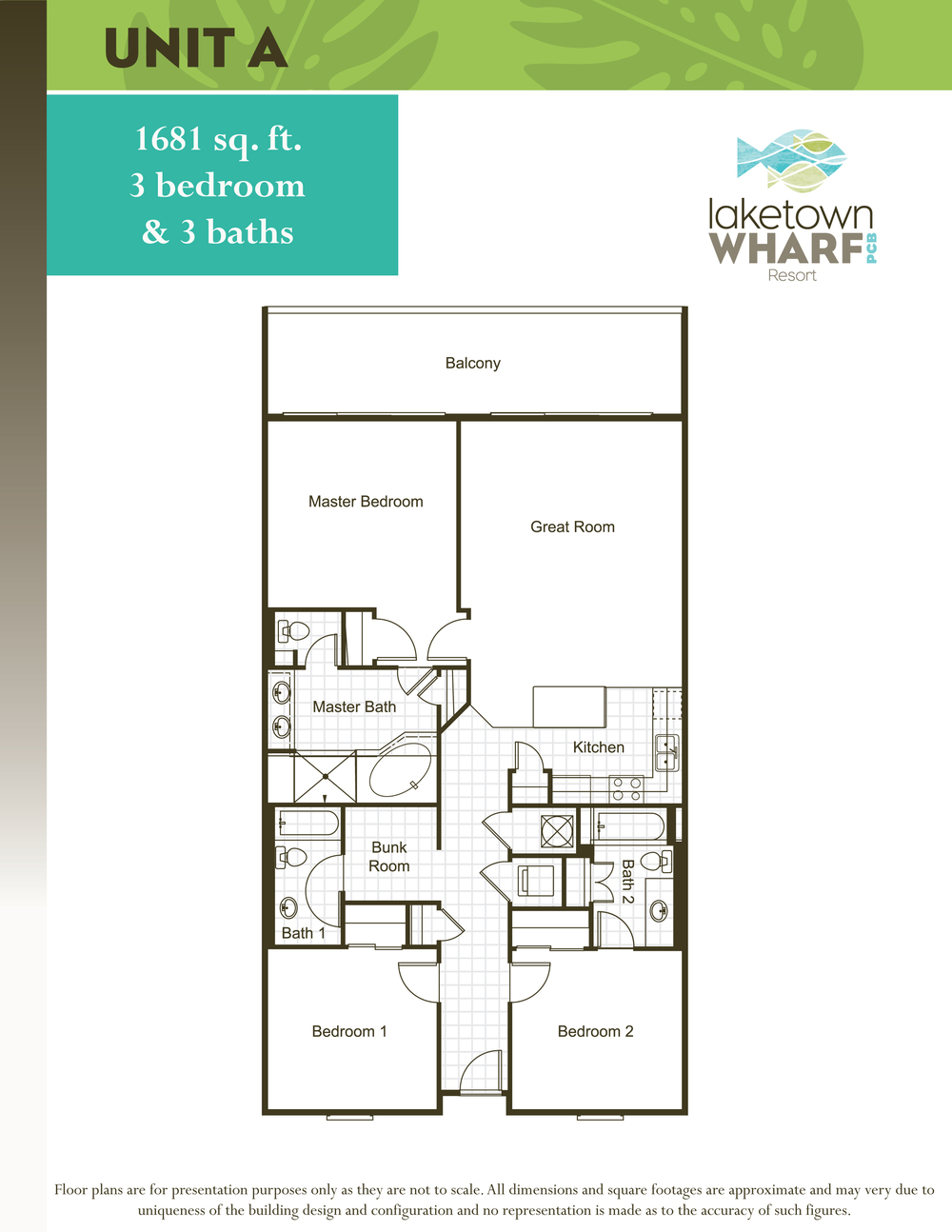 Click on one of our four Laketown Wharf floor plan options below to see  more detailed information. Floor Plans   Docs   Laketown Wharf