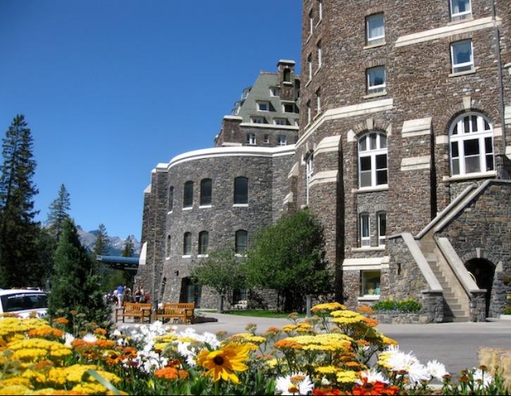 Fairmont Banff Springs Hotel , Alberta, Canada