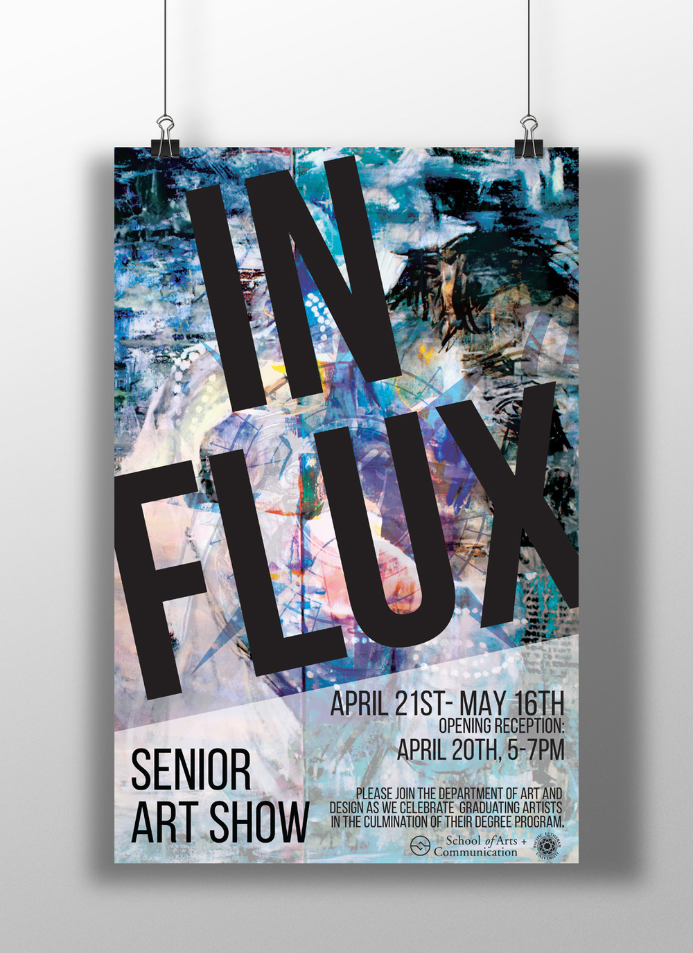 In Flux- Senior Art Show