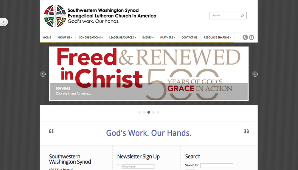 Southwestern Washington Synod Website