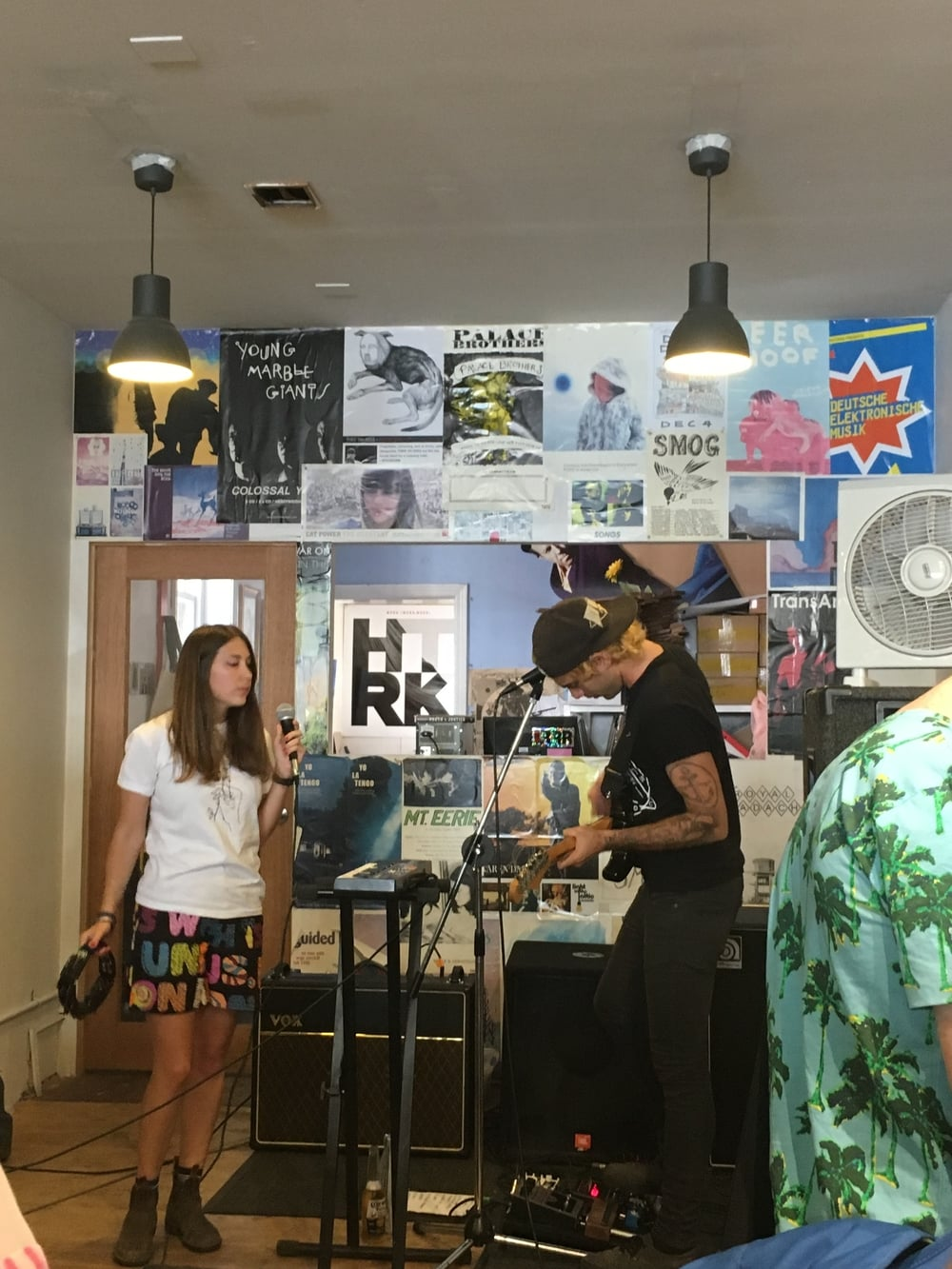 Polyester Records In-Store, Melbourne 01/03/16