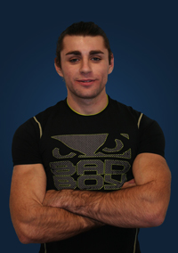 Alex Vinarsky  - Alex is an active Muay Thai competitor and GFV's head Muay Thai coach. He is great teaching beginners as well as more advanced students. Sometimes the most dangerous guys are the quietest.