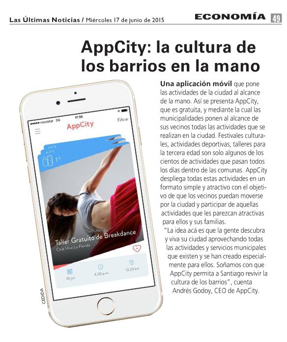 AppCity: la cultura de los barrios en la mano