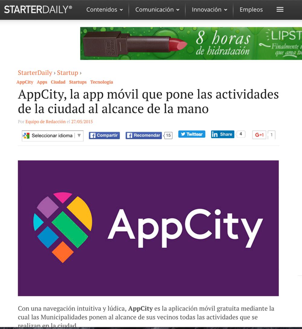 AppCity, la app móvil que pone las actividades de la ciudad al alcance de la mano