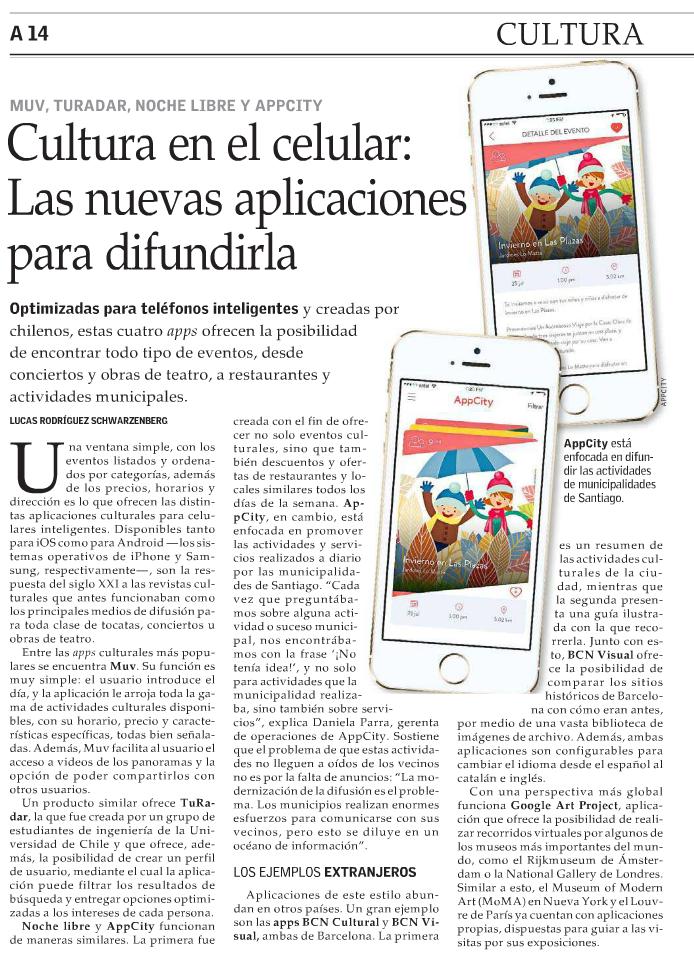 Cultura en el celular: Las nuevas aplicaciones para difundirla