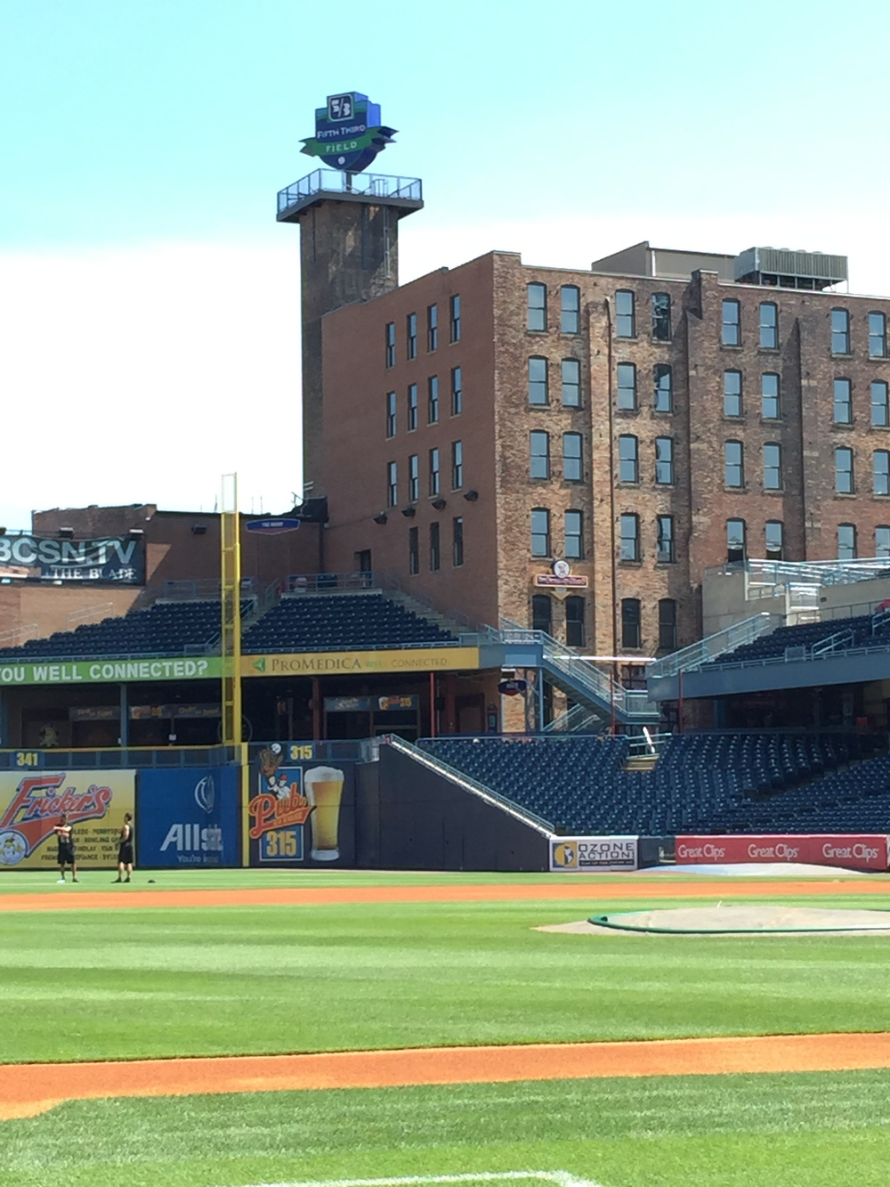 Toledo's Fifth-Third Field, the closest thing Mike Hessman has had to a summer home since he signed with the Atlanta Braves way back in 1993.