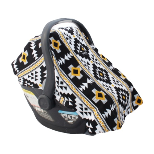 Yellow Aztec Car Seat Cover