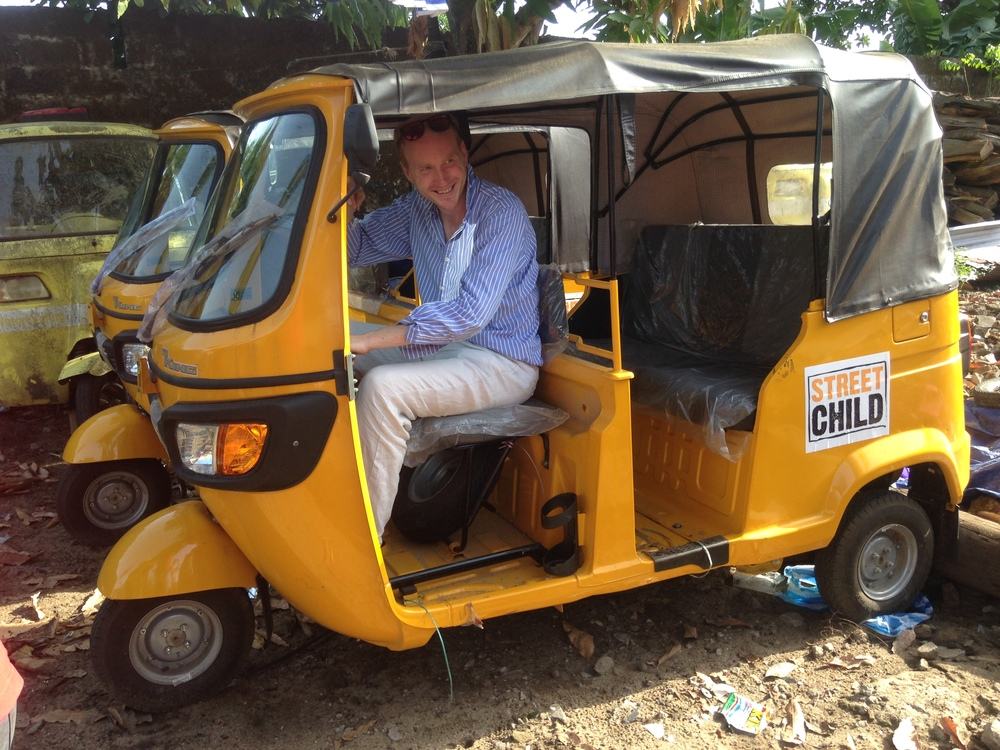 Street Child's new tuktuk