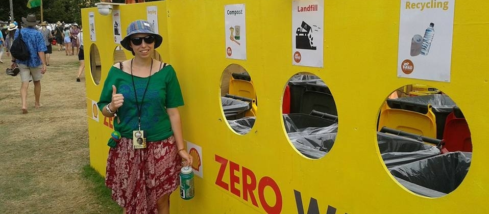 Zero waste at WOMAD