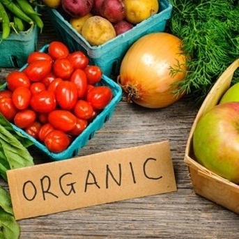 Organic markets and stores -