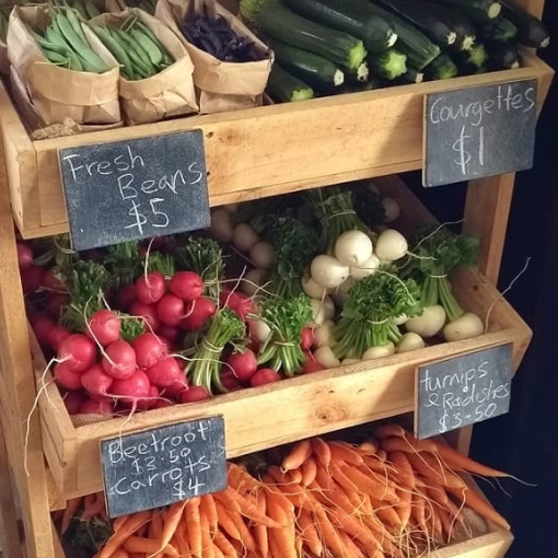 Local growers & producers -