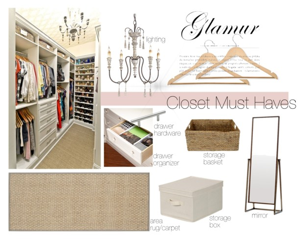 Decor Items that will help organize your closet