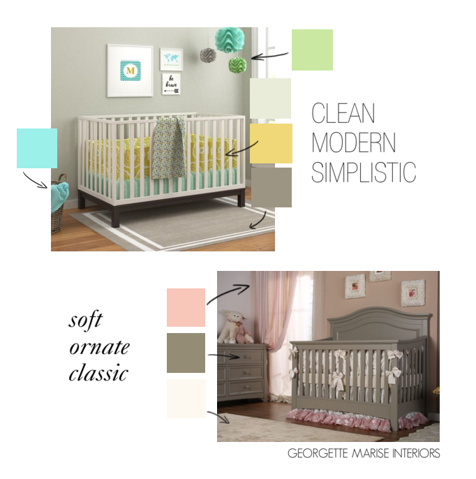 nursery color themes