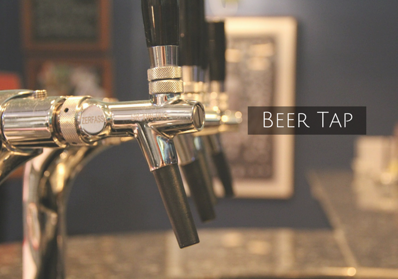 What's a bar without a beer tap?
