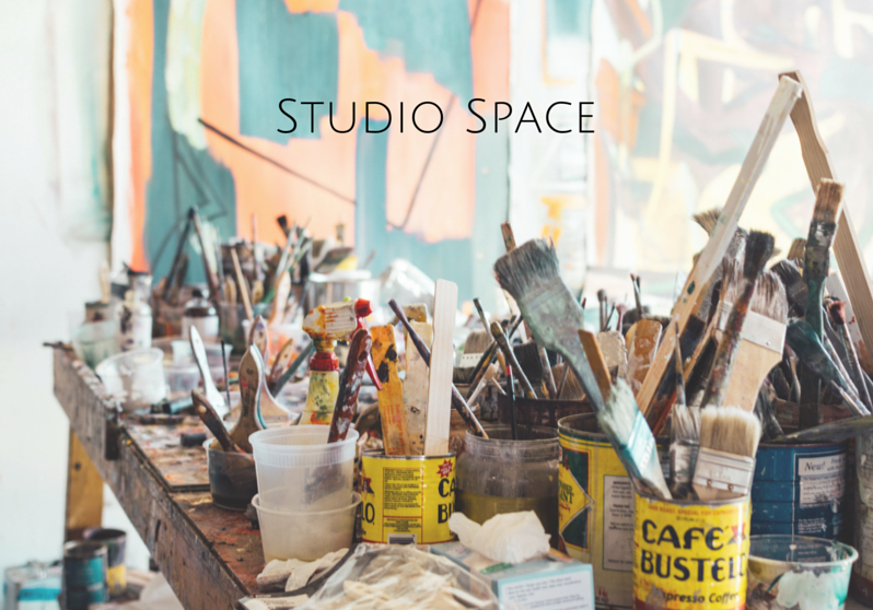 creating a studio space as part of your man cave is a great option for musicians, artists, designers, etc.