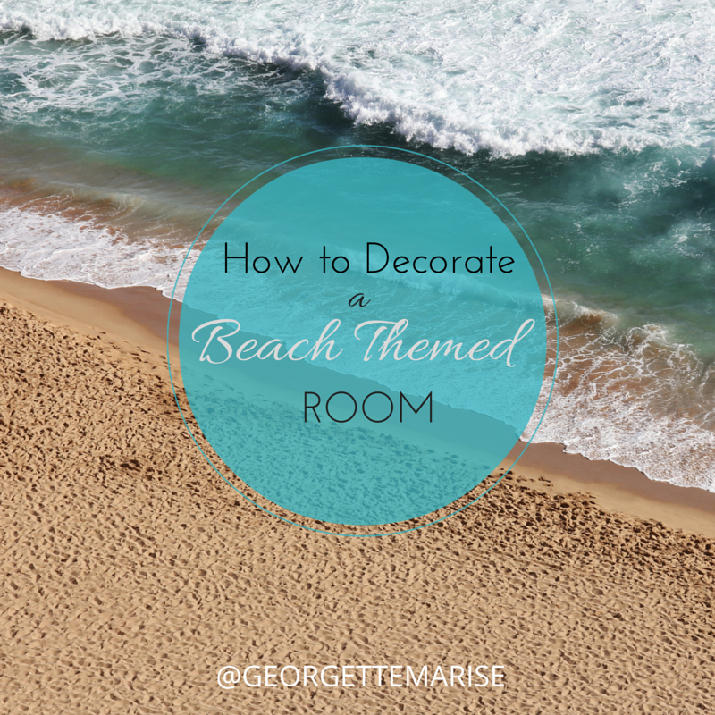 Decorate a beach themed room