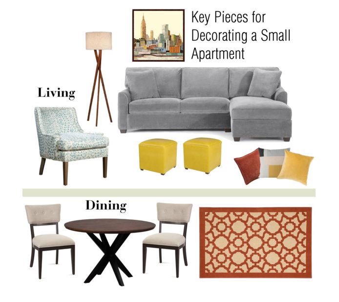 ideas for decorating a small apartment