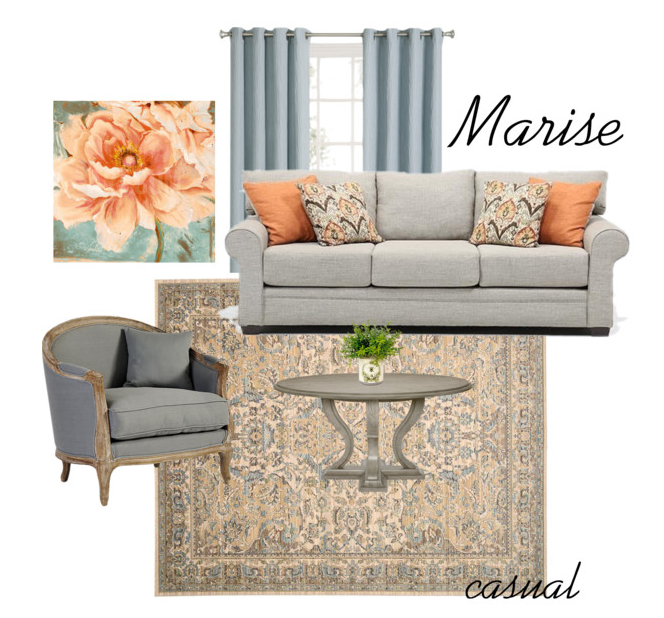 marisE IS THE casual PART OF THE GEORGETTE MARISE STYLE.