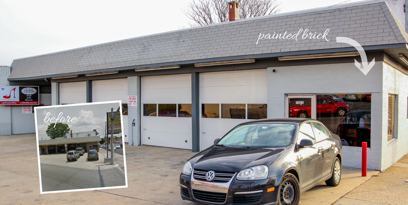 BEFORE & AFTER: Girls Auto Clinic Repair Center