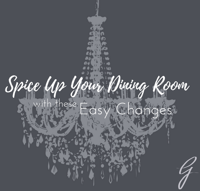 spice up your dining room