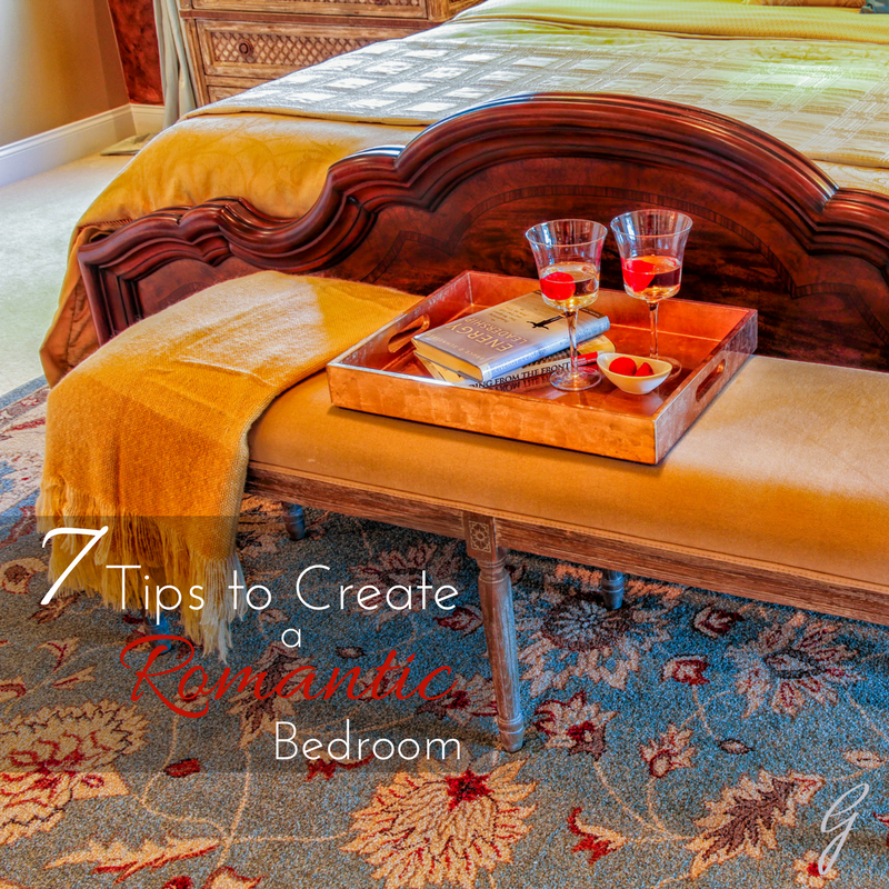 Tips to create a romantic bedroom